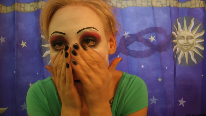 kitzi klown the unclowning ~  Kitzi Klown ~  Amateur ~ Makeup, Face Fetish ~  484,2 MB 30.03.2019