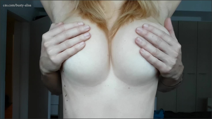missalisa he plays with my big tits ~  MissAlisa ~  Amateur ~ Tit Play, Boob Bouncing, Titty Squeezing ~  398,1 MB 15.03.2019