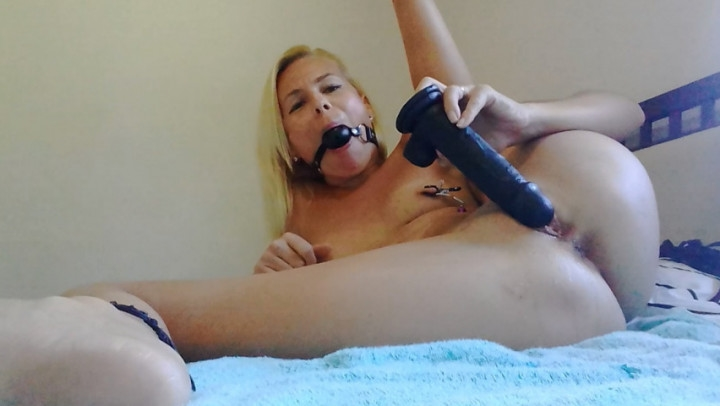 missanja ball gagged fuck myself w bbcgushing ~  MissAnja ~  Amateur ~ Bbc, Squirting, Nipple Play ~  545,7 MB 20.03.2019
