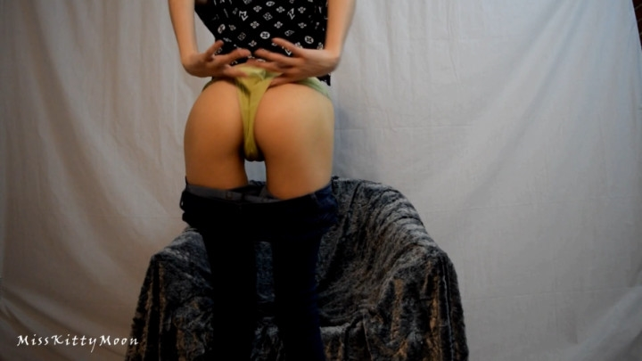 misskittymoon jeans and wedgies ~  MissKittyMoon ~  Amateur ~ Panty Fetish, Jeans Fetish ~  430,4 MB 23.03.2019