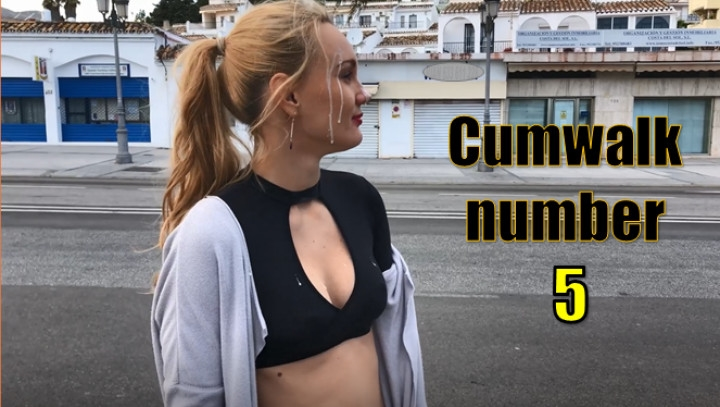 iviroses cumwalk number 5 restaurant ~  IviRoses ~  Amateur ~ Cum Play, Face Fetish, Embarrassment ~  1,5 GB 04.04.2019