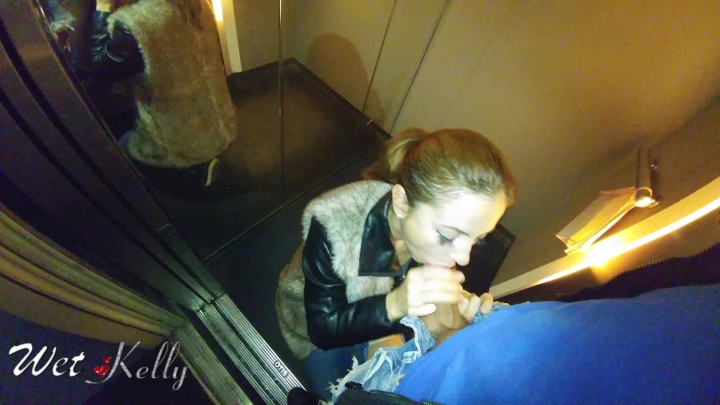 wet kelly quick blowjob in the elevator ~  Wet Kelly ~  Amateur ~ Blow Jobs, Public Outdoor ~  995,6 MB 22.04.2019