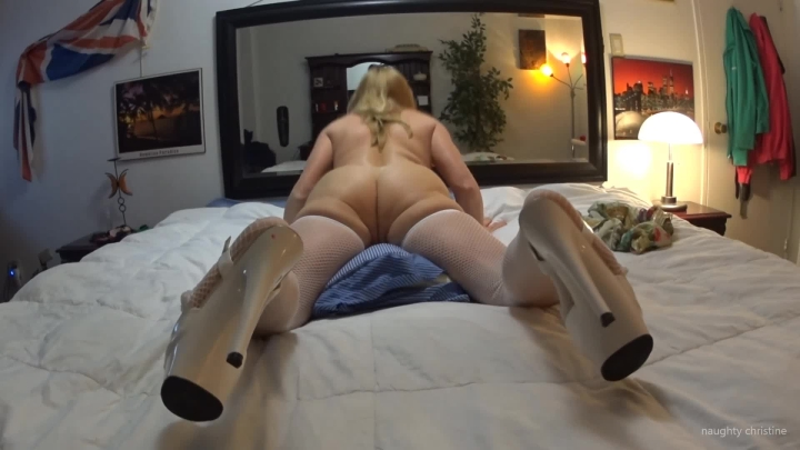 naughty christine ass squeezing leg squirm orgasm ~  Naughty Christine ~  Amateur ~  00:03:25 ~ High Heels, Fishnets, Ass Squishing ~  172,7 MB 18.10.2019
