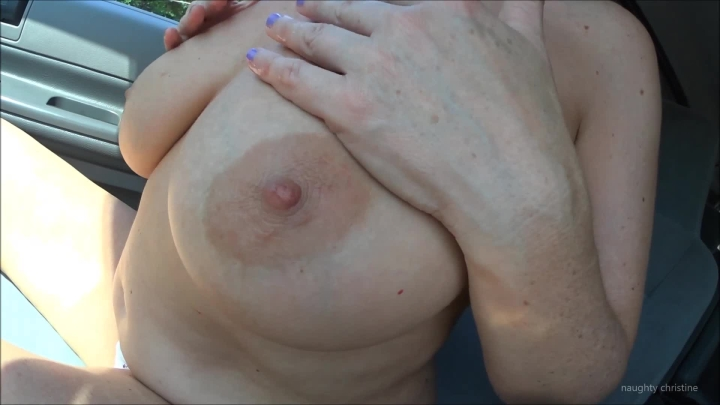 naughty christine big cum solo in the car ~  Naughty Christine ~  Amateur ~  00:06:02 ~ Finger Fucking, Orgasms, Dildo Fucking ~  373,1 MB 18.10.2019