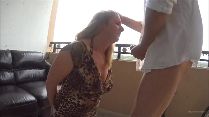 naughty christine handcuffed and made too suck cock ~  Naughty Christine ~  Amateur ~  00:25:31 ~ Handcuff And Shackle Fetish, Female Mercy ~  2,1 GB 18.10.2019