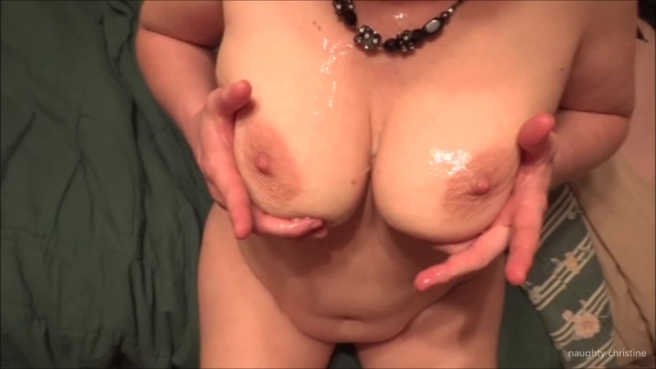 naughty christine look at all the cum on your tits ~  Naughty Christine ~  Amateur ~  00:07:16 ~ Titjobs, Cumshots, Big Loads ~  238,9 MB 18.10.2019