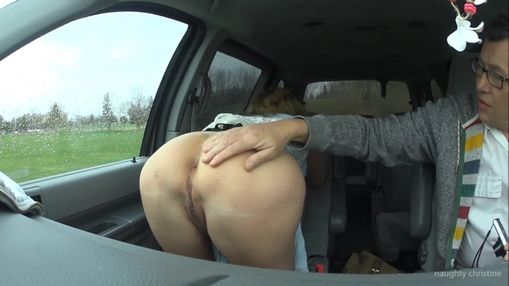 naughty christine photoshoot showing ass in the car ~  Naughty Christine ~  Amateur ~  00:04:32 ~ Milf, Outdoors, Big Tits ~  526,1 MB 18.10.2019