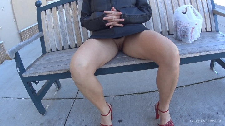 naughty christine public bench flashing ~  Naughty Christine ~  Amateur ~  00:06:41 ~ Public Outdoor, Public Flashing, Upskirt ~  627,7 MB 18.10.2019