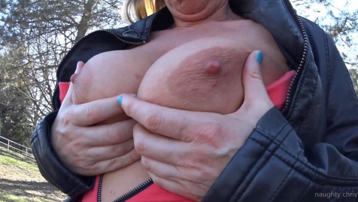 naughty christine public outdoor tit play ~  Naughty Christine ~  Amateur ~  00:09:16 ~ Nipple Play, Public Flashing, Public Blowjob ~  1,1 GB 18.10.2019