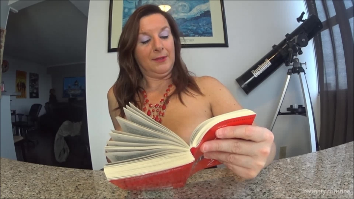 naughty christine reading is fun ~  Naughty Christine ~  Amateur ~  00:09:32 ~ Corset, Orgasms ~  497,5 MB 18.10.2019