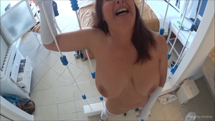 naughty christine ropes and fishnets part 1 ~  Naughty Christine ~  Amateur ~  00:09:53 ~ Fishnets, Face Fetish ~  503,3 MB 18.10.2019