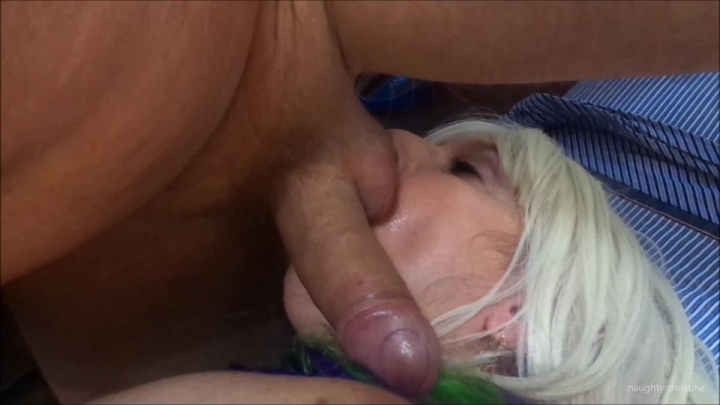 naughty christine sucking balls dong riding ~  Naughty Christine ~  Amateur ~  00:04:59 ~ Dildo Fucking, Blonde ~  525,4 MB 18.10.2019