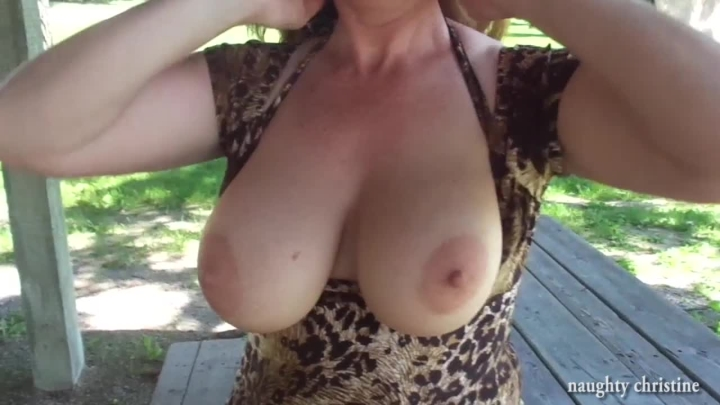 naughty christine tit worship and a blowjob ~  Naughty Christine ~  Amateur ~  00:17:40 ~ Outdoor Public Blowjobs, Nipple Play, Tit Worship ~  1 GB 18.10.2019