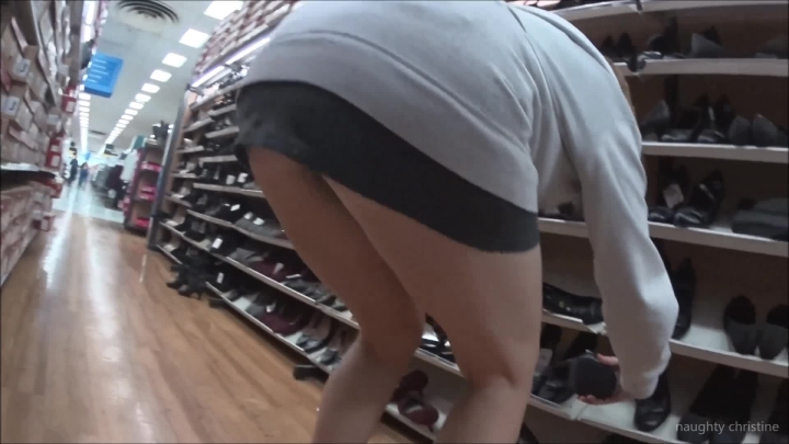 naughty christine walmart slow motion upskirts ~  Naughty Christine ~  Amateur ~  00:11:33 ~ Shoe Fetish, Legs, Hairy Bush ~  657,7 MB 18.10.2019