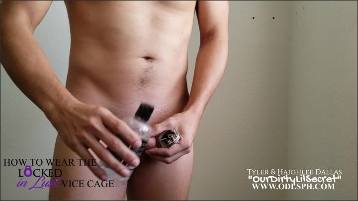 how to wear the vice male chastity cage ourdirtylilsecret *  ourdirtylilsecret *  *  00:02:06 * How To, Adult Toys *  73,7 MB 24.11.2019