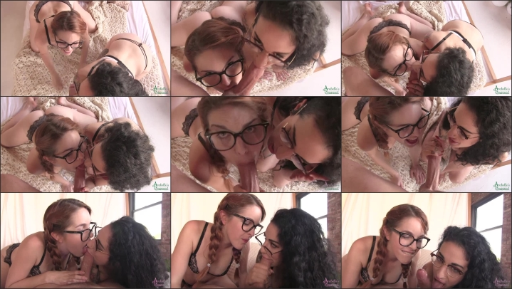 [SD] arabelle raphael amarna and arabelle share a cock  – Arabelle Raphael – ManyVids – 00:17:17 | Pov, Eye Glasses, Blow Jobs – 575,3 MB title=