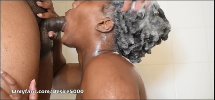 [HD] wash my hair while i give you head  – desire5000 –  – 00:06:22 | Mother, Ebony, Wash Hair – 77,3 MB