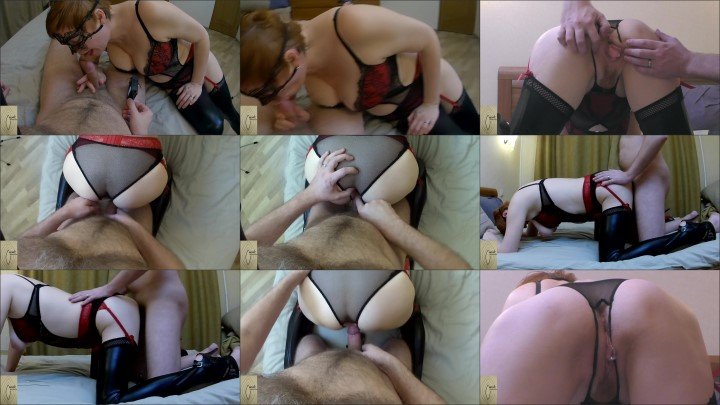 [Full HD] milf in leather stockings gets creampie  – Mature_Cunt –  – 00:10:41 | Mature, Exclusive – 262,7 MB title=