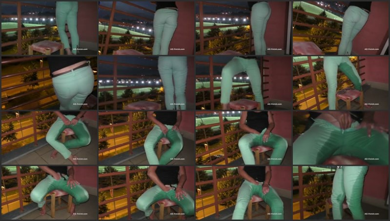 [Full HD] desperation p– on public balcony when watch footballl game outdoor   – AquaPola – -00:07:47 | Wet Clothes, Pee, Weting – 414,4 MB title=