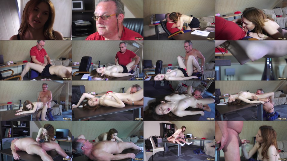 [Full HD] Oldje №555 Alegra – I Want To Be A Porn Model Mix – SiteRip-00:14:04 | Oldman – 524,4 MB title=